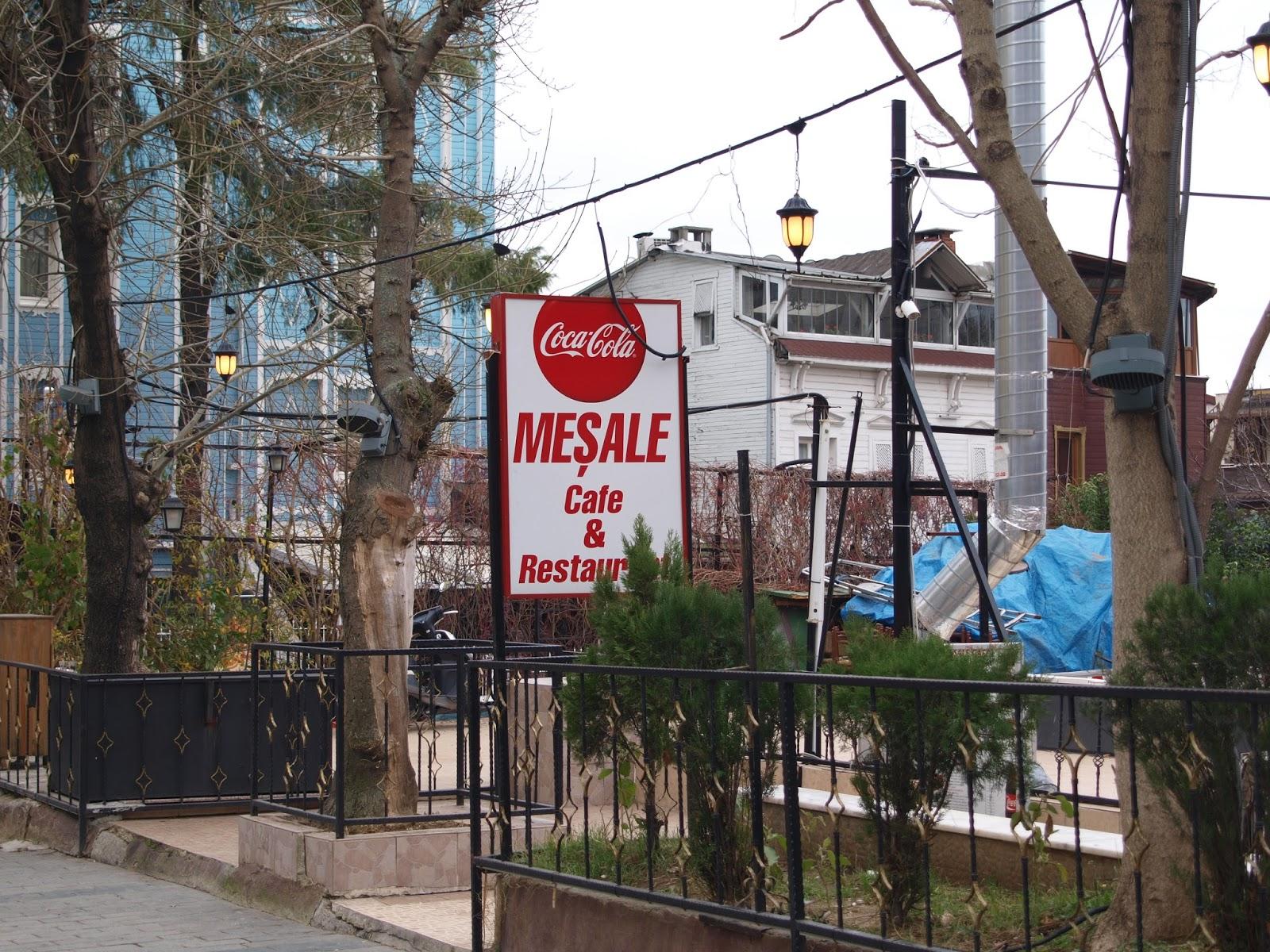 ΚΩΝΣΤΑΝΤΙΝΟΥΠΟΛΗ: ''MESALE'' CAFE - RESTAURANT.