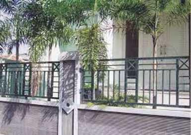 pagar rumah sederhana untuk rumah minimalis yang asri