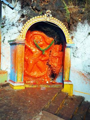 Lord Hanuman at Mangalagiri Temple