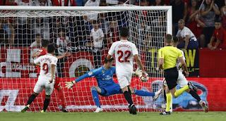 خسارة الفريق الملكي ريال مدريد بثلاثة أهداف نظيفة أمام إشبيليه