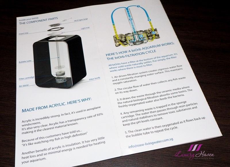 how biorb aquarium filtration cycle works