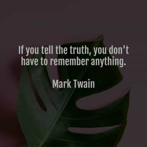 Quotes about hiding truth