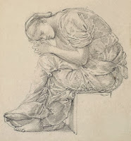 http://commons.wikimedia.org/wiki/File:Edward_Burne-Jones_-_The_Lament_-_Study_for_the_Figure_on_the_Right_-_Google_Art_Project.jpg