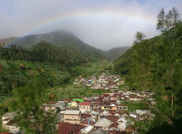 WOW! Desa Genilangit Yang Tersembunyi di Lereng Gunung Lawu