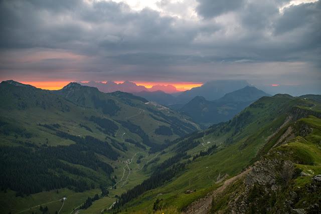 Sonnenaufgangswanderung Spieleckkogel  Wandern in Saalbach 05