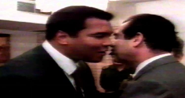 ماذا حصل بين صدام حسين و محمد علي كلاي و لم تلتقطه الكاميرا
