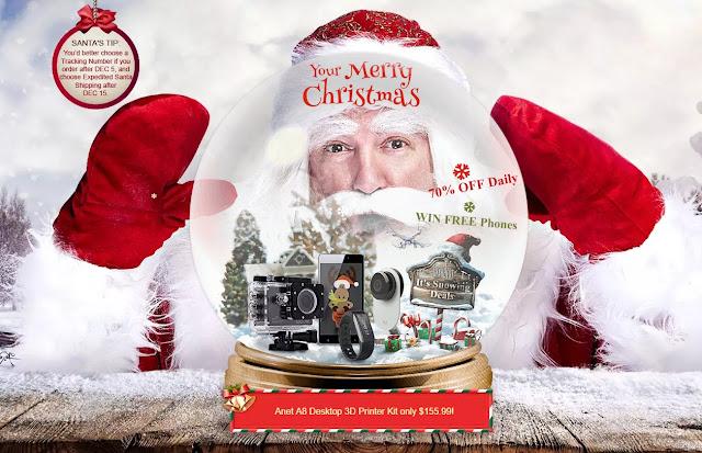 【クリスマスセール】GearBestでもクリスマスセールがスタート!1万円切りのタブレットに、8.4万円のMi Notebook Airも!