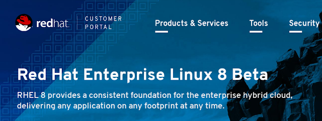 Red Hat Enterprise Linux 8 Beta