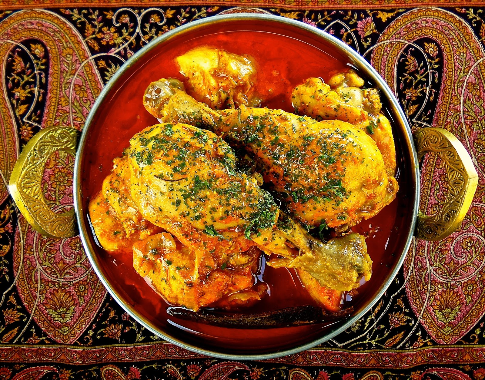 Chicken Rogan Josh kashmiri recipe curry easy authentic indian