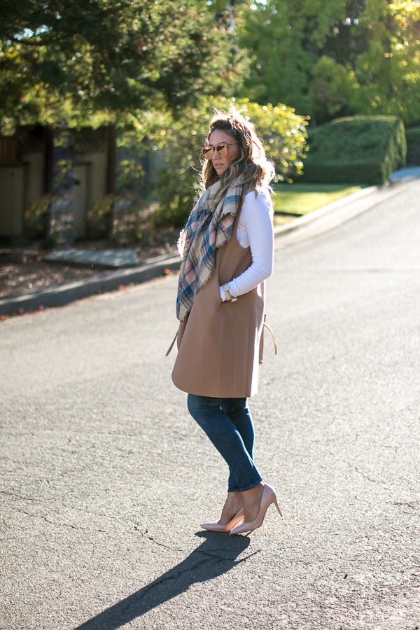 cute simple fall outfit neutrals parlor girl