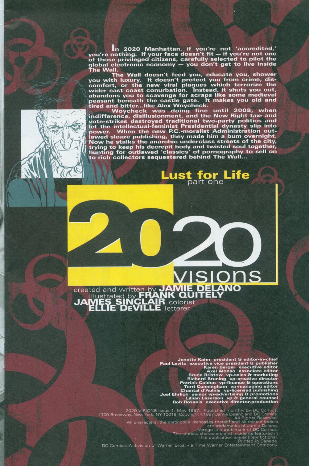 Read online 2020 Visions comic -  Issue #1 - 2