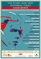 David Bowie Tribute Show Benefit