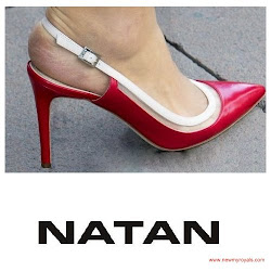 Queen Maxima Style NATAN Pumps and NATAN Dresses