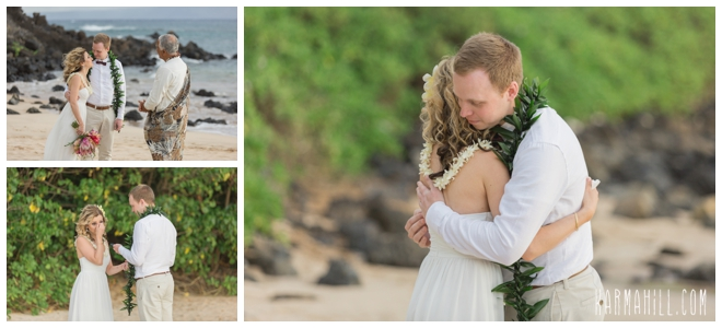 Professional Maui Elopement Photographer