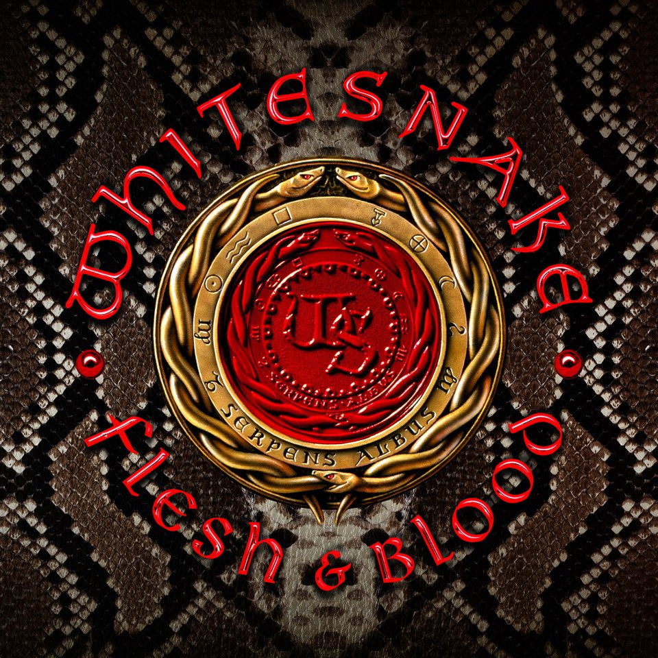 Resultado de imagem para Whitesnake – Flesh & Blood