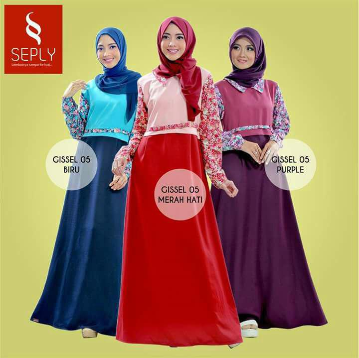 Seply baju gamis model terbaru 0856 4949 4787 wafiq Baju gamis elif