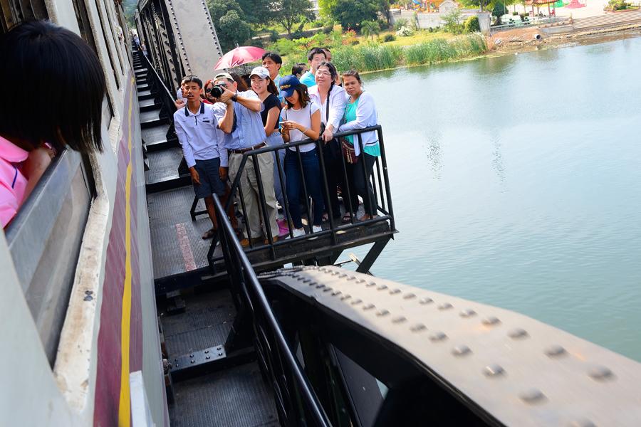 Kanchanaburi, most na rzece kwai