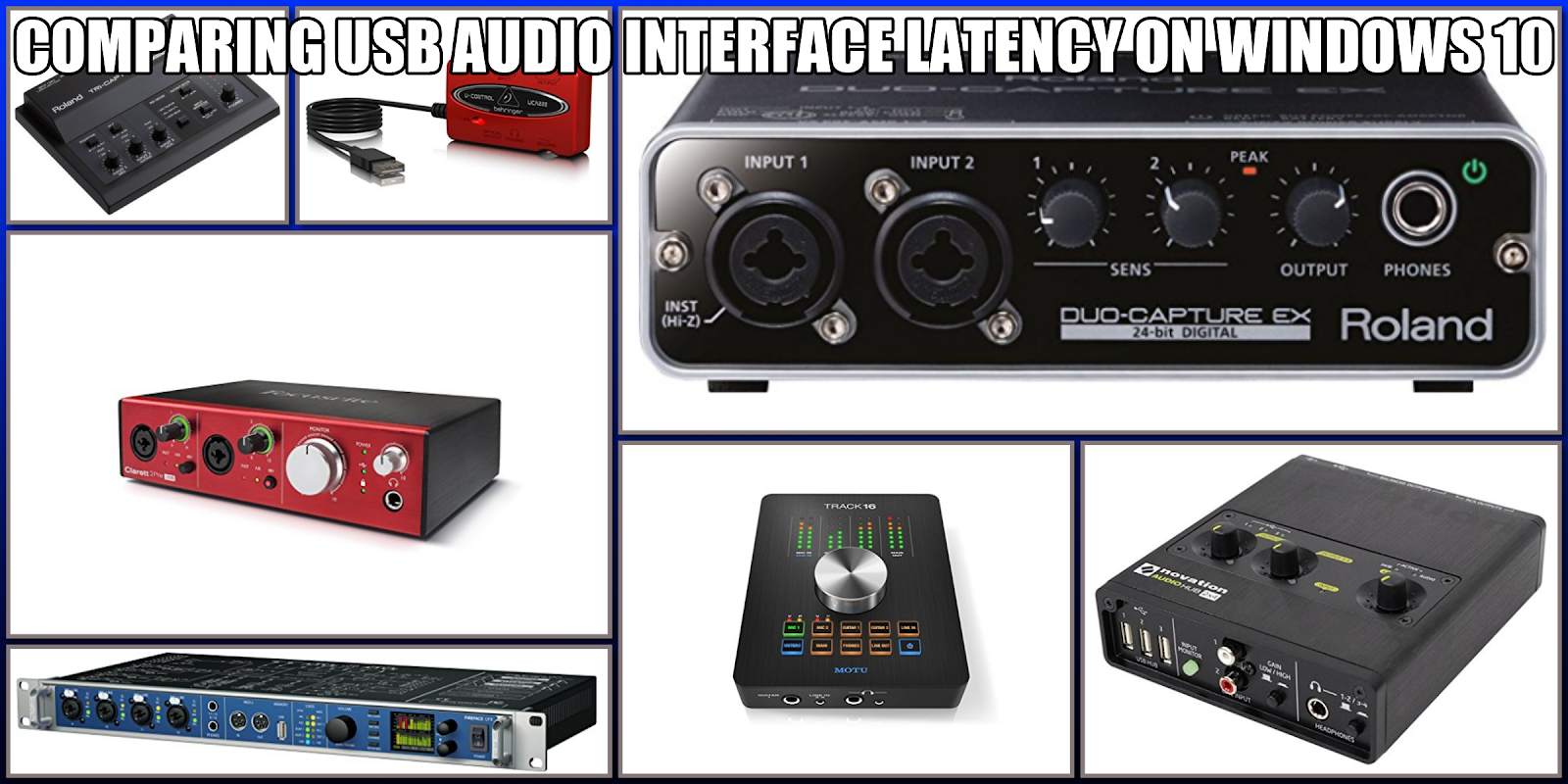 Ultimate Outsider: Comparing USB Audio Interface Latency on Windows 10