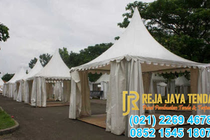 Kontraktor Tenda Sarnafil Kerucut - Tempat Pembuatan Tenda Event Bazar
