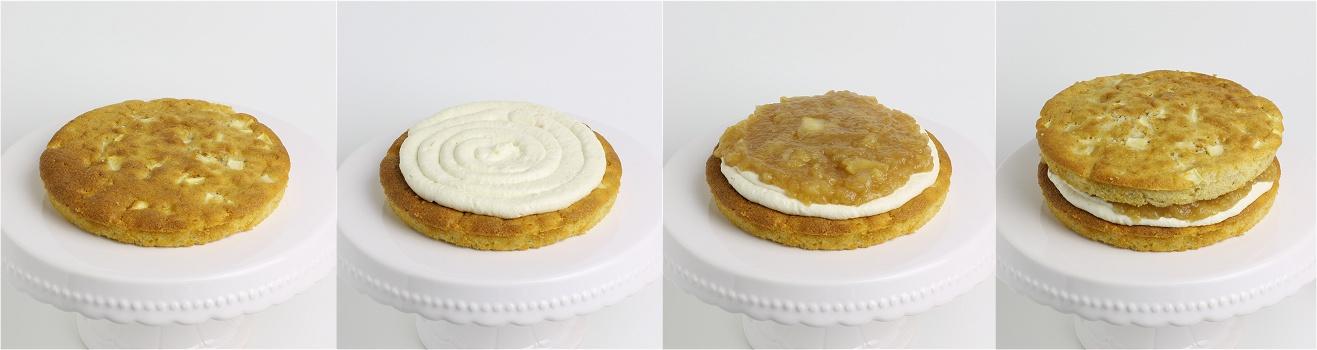 Apfel-Zimt-Torte Anleitung