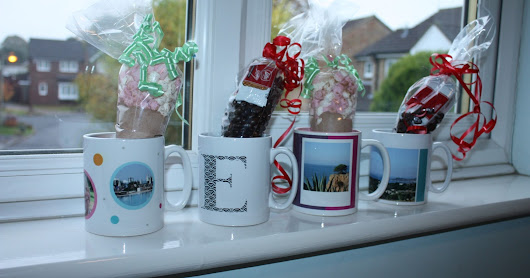DIY Personalised Hot Chocolate Mugs and Coffee Cups