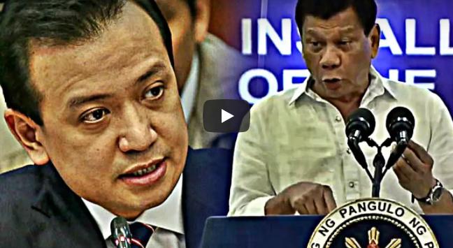 WATCH: Magka-alaman Na! Duterte Hinamon Ng Duelo Si Trillanes