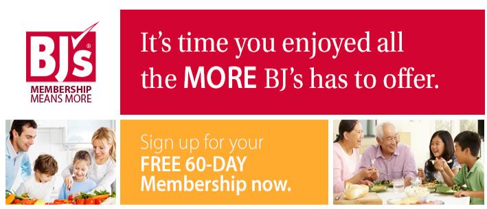 Free BJs Trial Membership
