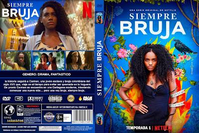 CARATULA SIEMPRE BRUJA - TEMPORADA 1 - 2019 [COVER DVD]
