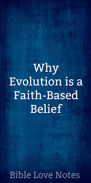 Scripture speaks specifically about people who believe in Evolution
