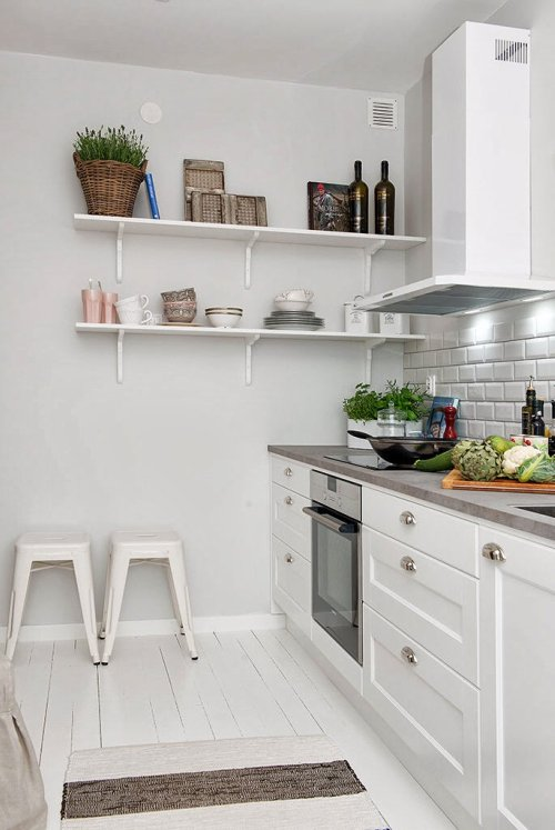 UNA COCINA TIPICAMENTE NORDICA  Decoracin