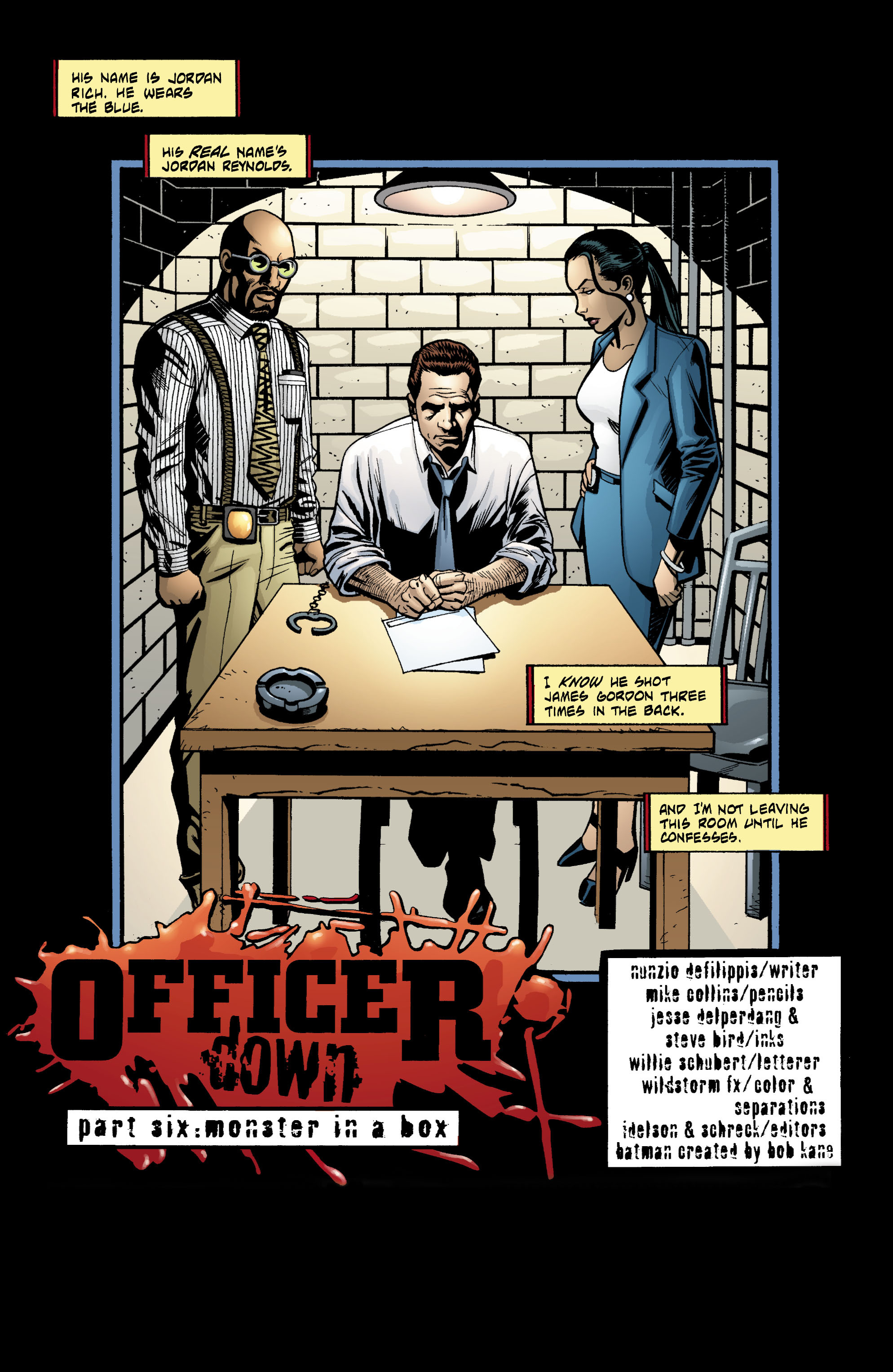 Detective Comics (1937) 754 Page 1