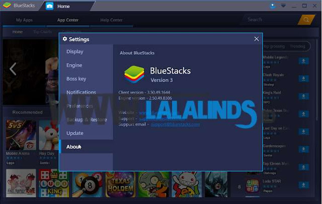 Download Emulator BlueStacks 3.50.56.2506 Terbaru Offline Installer