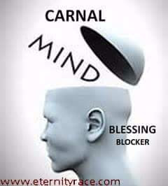 DANGER OF SERVING GOD WITH CARNAL MIND.