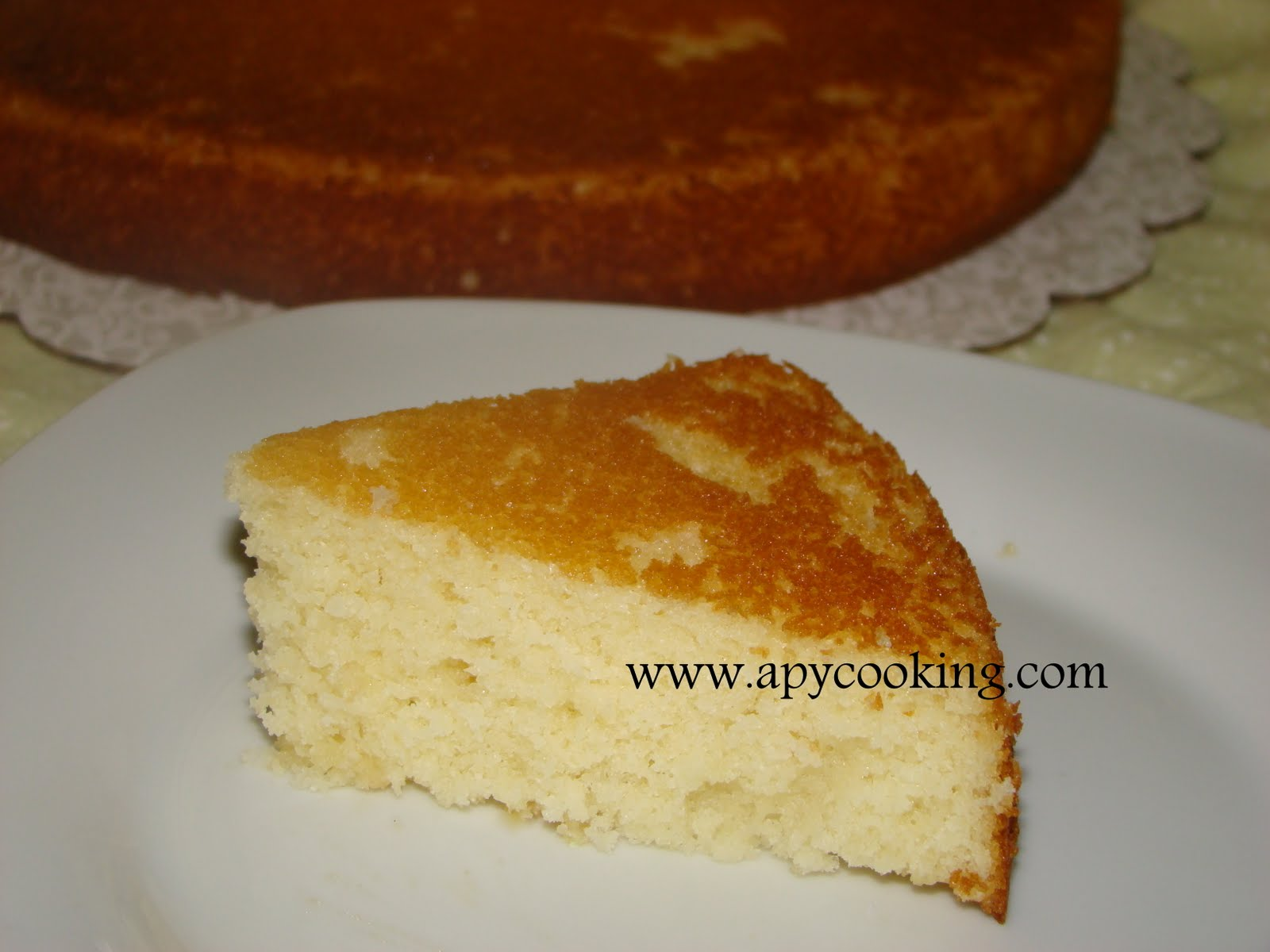 Easy Moist Yellow Cake Recipe From Scratch