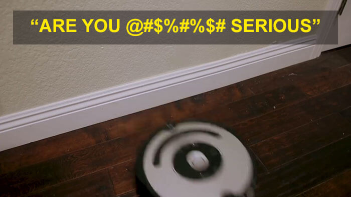 A YouTuber Modified A Roomba To Curse When Bumping Into Things