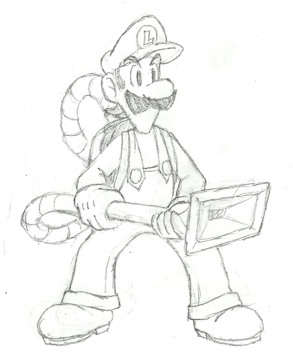 10000 Impresso √ Luigi Mansion 3 Para Colorir - Desenhos ...