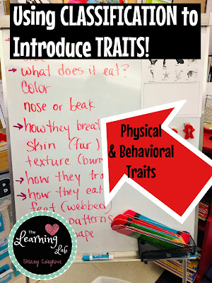 Physical and Behavioral Traits, NGSS