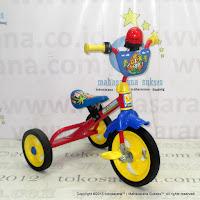 Sepeda Roda Tiga BMX PMB 919 Safari Klakson Sirene
