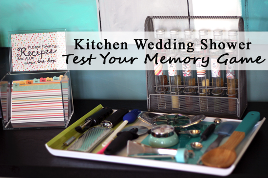 entertaining with style three kitchen themed wedding shower games blue i style creating an organized pretty happy home