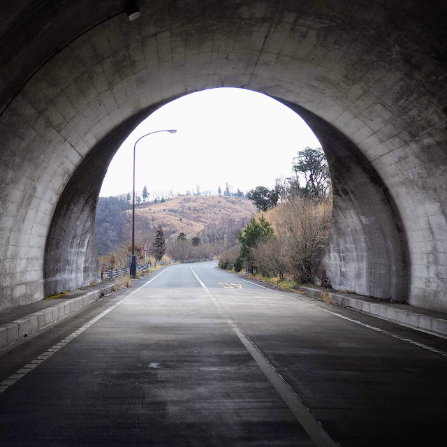 西天城高原道路 棚場山トンネル
