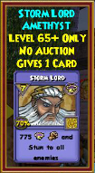 Storm Lord - Wizard101 Card-Giving Jewel Guide