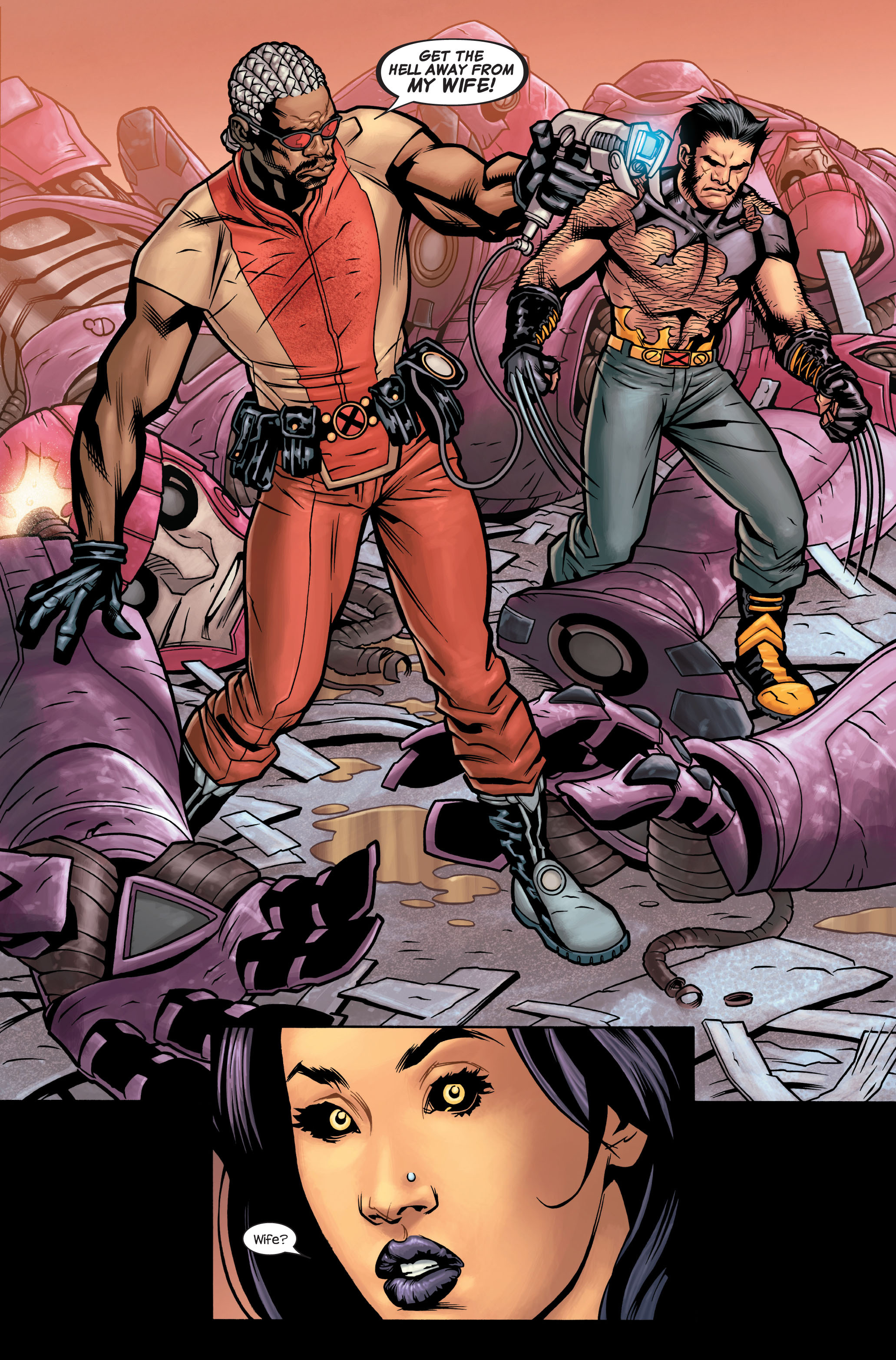 Read online Ultimate X-Men comic -  Issue #86 - 21