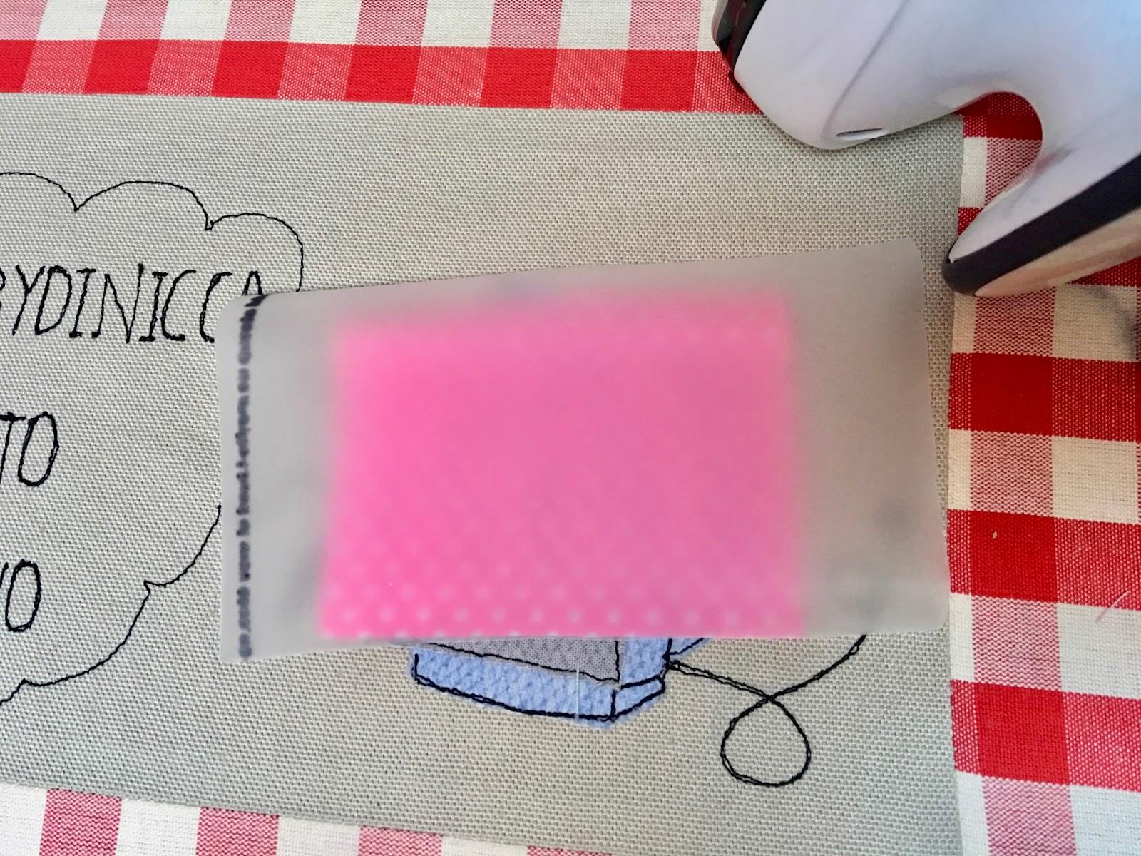 Super Come plastificare un tessuto - Hobbydinicca FN95
