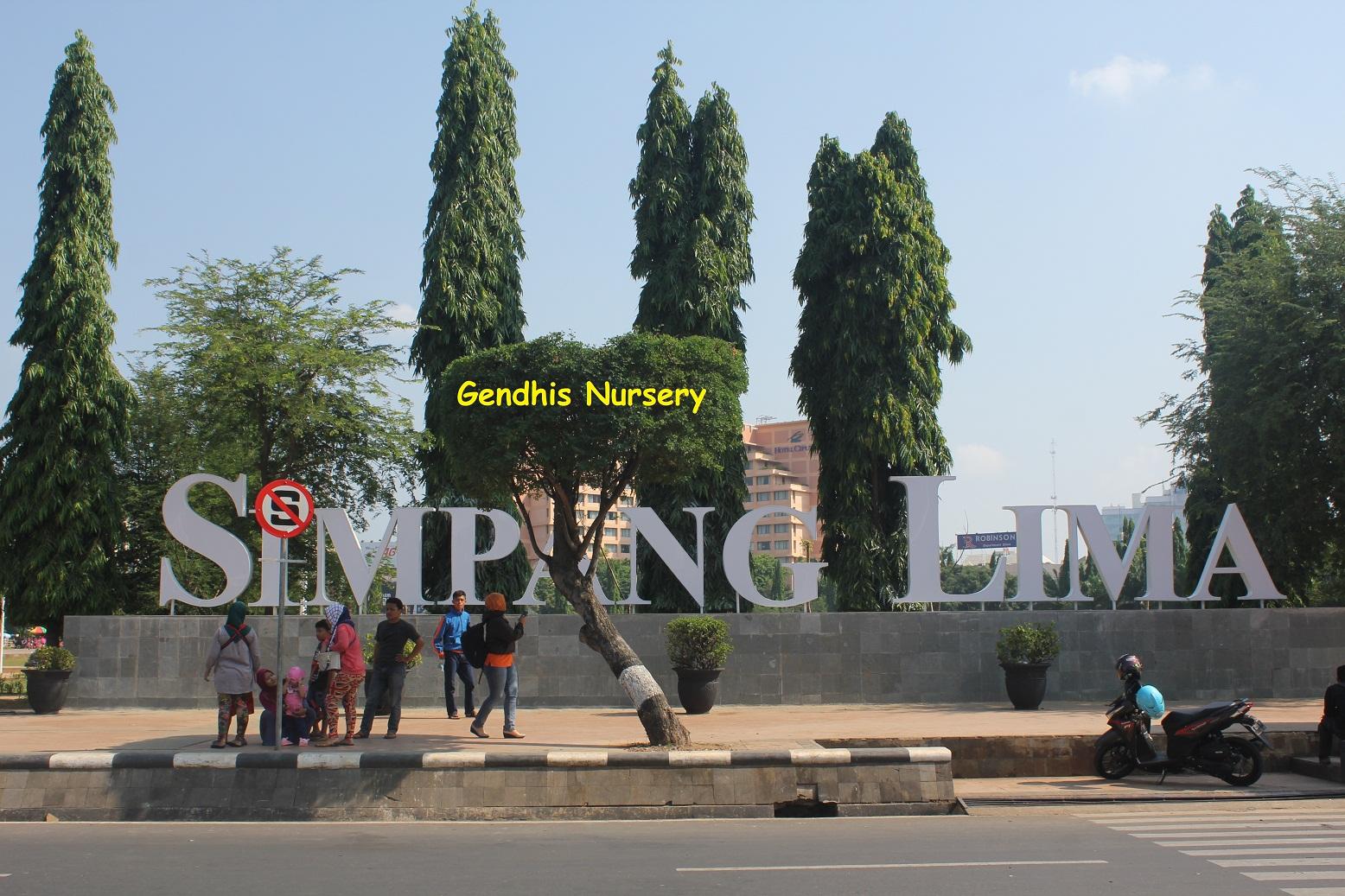 Wahanawisata Com Simpang Lima Semarang Ikon Kota Semarang
