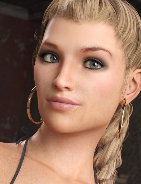 LY Ariah HD for Genesis 8 Female