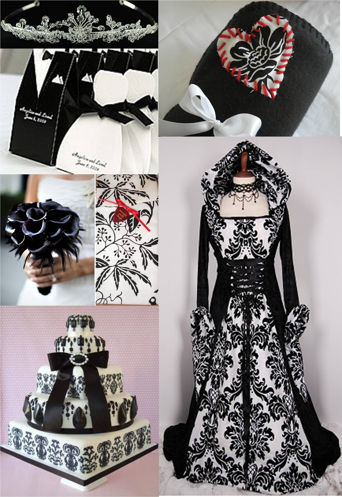 Black And White Wedding Theme Diy Craft Ideas
