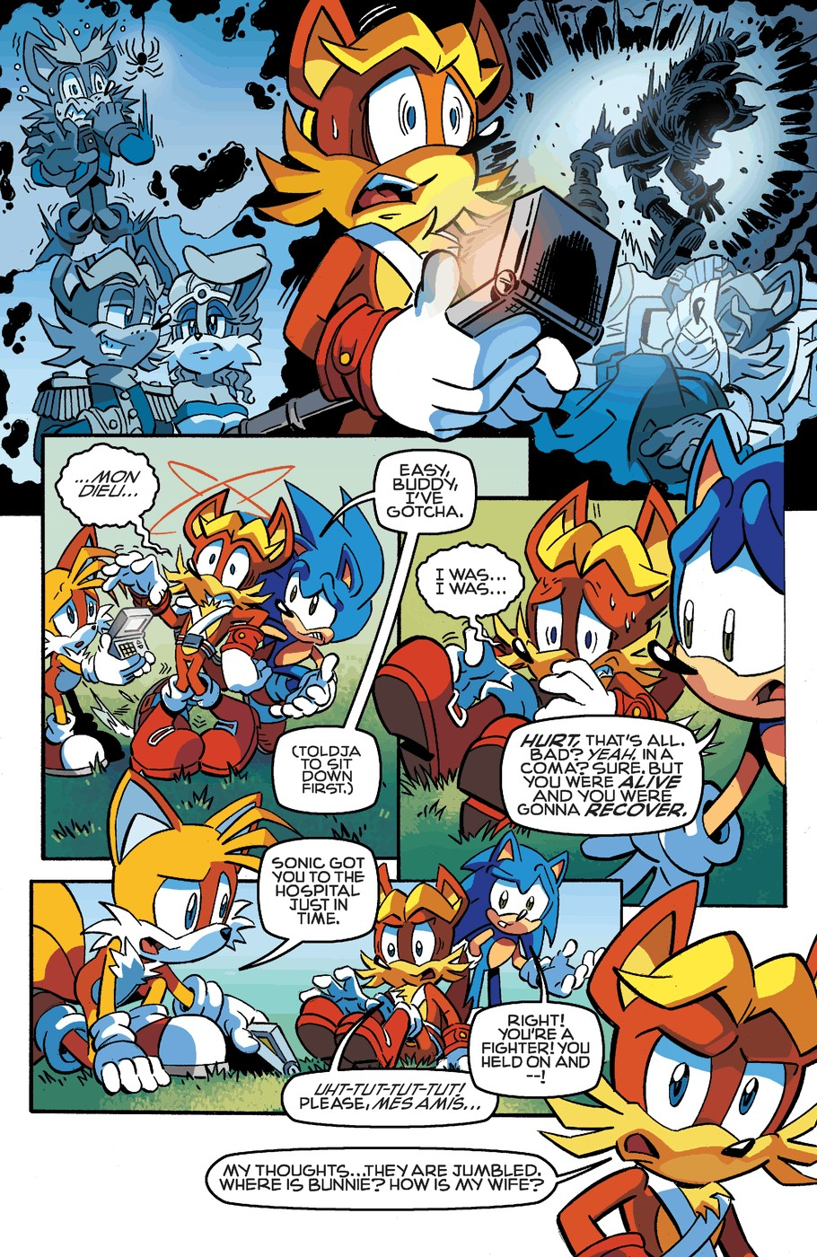 Read online Sonic The Hedgehog comic -  Issue #254 - 11