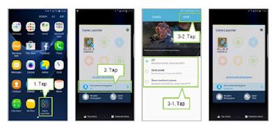 Cara Mengaktifkan Game Power Saving Mode pada Galaxy S7 Edge