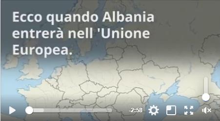 Ecco quando l'Albania entrerà nell'Unione Europea