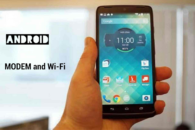 Smartphone Android Modem Wifi